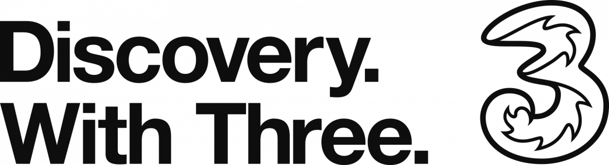 Three Discovery Centre logo